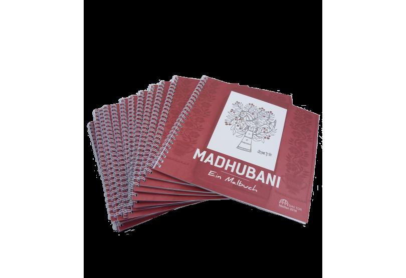 Madhubani Malbuch