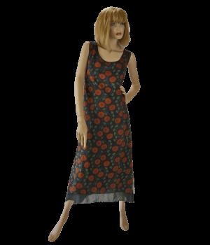 "Kleid ""Schwarzer Mohn"""
