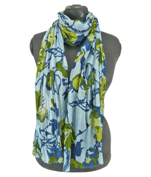 Blau-Grüner Schal
