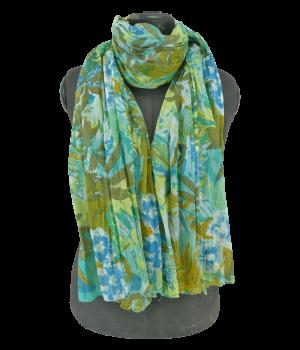 Grün-Blauer Schal