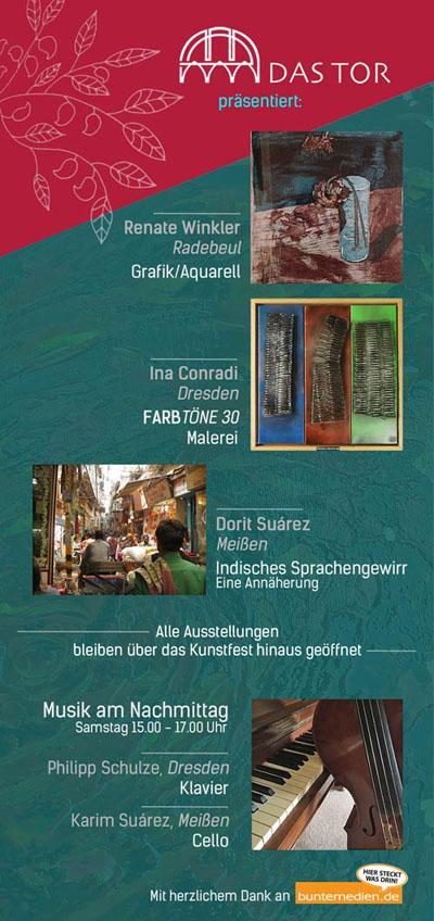 Kunstfest-Meißen 2018 bei Das Tor