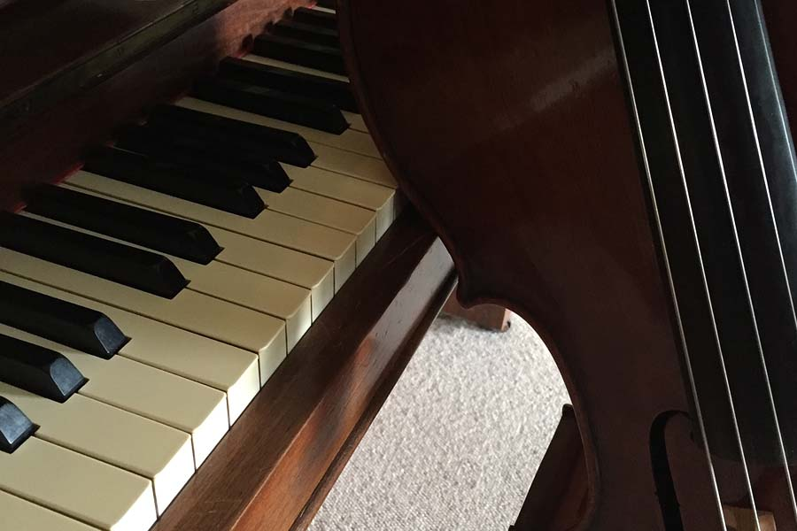 Musik mit Klavier und Cello zum Kunstfest Meißen-Cölln 2018, Das Tor